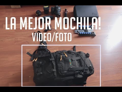 Lifewit DSLR - LA MEJOR MOCHILA DE FOTO Y VIDEO! Best photo/video backpack!