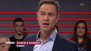 Dr. Daniele Ganser In Der ARENA - Der Krieg Der Medien Gegen Trump 24.02.2017 - Bananenrepublik