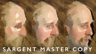 Portrait Painting On Lockdown - John Singer Sargent Master Copy