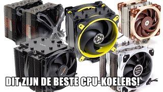 62 CPU-koelers getest: Dit zijn onze favoriete modellen!