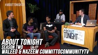 Waleed Aly & Nazeem Hussain  #committocommunitytv