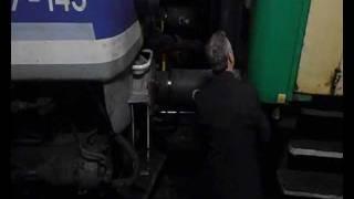 preview picture of video 'Pociąg Pielgrzymkowy Częstochowa - Kędzierzyn-Koźle - Rybnik (+ zapowiedź i manewry)'