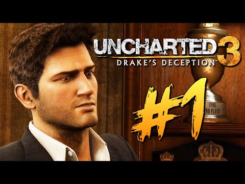 Uncharted 3: Иллюзии Дрейка - ИГРАЕМ НА PS4 #1