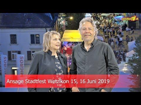 Ansage Stadtfest-Wetzikon 2019