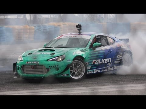 Drifting Champ Dai Yoshihara Shows Off Falken Tire