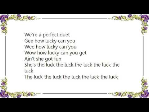 Charles Tichenor - How Lucky Can You Get Lyrics