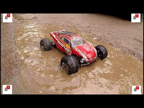Traxxas Rustler VXL Muddy Dirt Bash Edition 3s