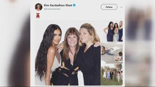 Kim Kardashian fans speculate about baby names after Teddy bear emoji