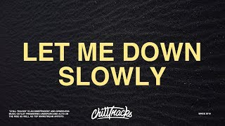 Alec Benjamin & Alessia Cara – Let Me Down Slowly (Lyrics)