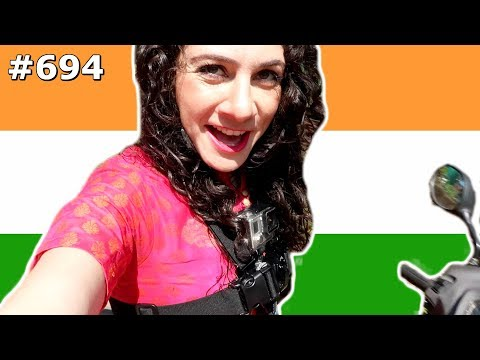 SCOOTING AROUND GOA GOPRO JUGAAD INDIA DAY 694 | TRAVEL VLOG IV