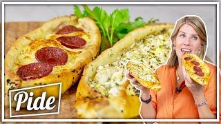 Türkische Pide Backen | Vegetarisch Und Mit Sucuk | Felicitas Then