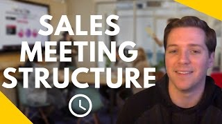 How to Run an Effective Sales Meeting in Under 20 Minutes?