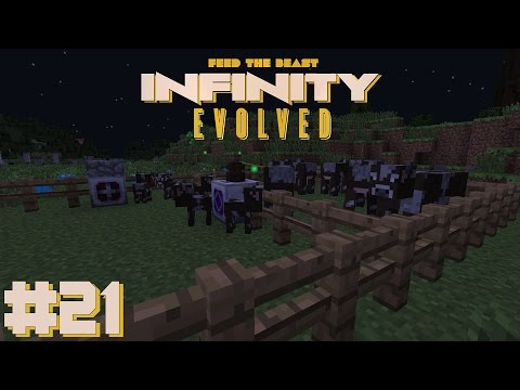 Let's Play - FTB Infinity - Ep-20 - Pink slime, Mining