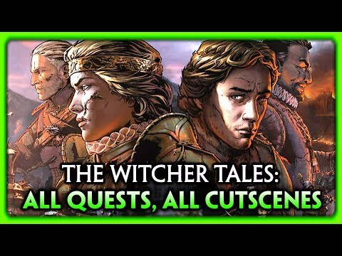 Thronebreaker: The Witcher Tales ► ALL CUTSCENES, ALL QUESTS, Full Story Walkthrough (Game Movie HD)
