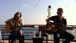 Hope - who am I to say  (Mike Robins and Hope from the Vh1 Best cruise ever)