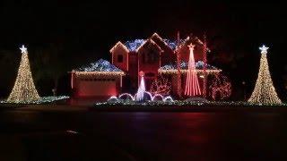 2015 Light Show - Winter Wonderland/Here Comes Santa (Snoop Dogg)