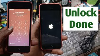 iPhone 5c passcode lock unlock a1532 pin password Unlock Done iPhone is disabled