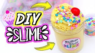 DIY CLOUD CREME CUPCAKE SLIME! How To Make Cloud Creme Slime!