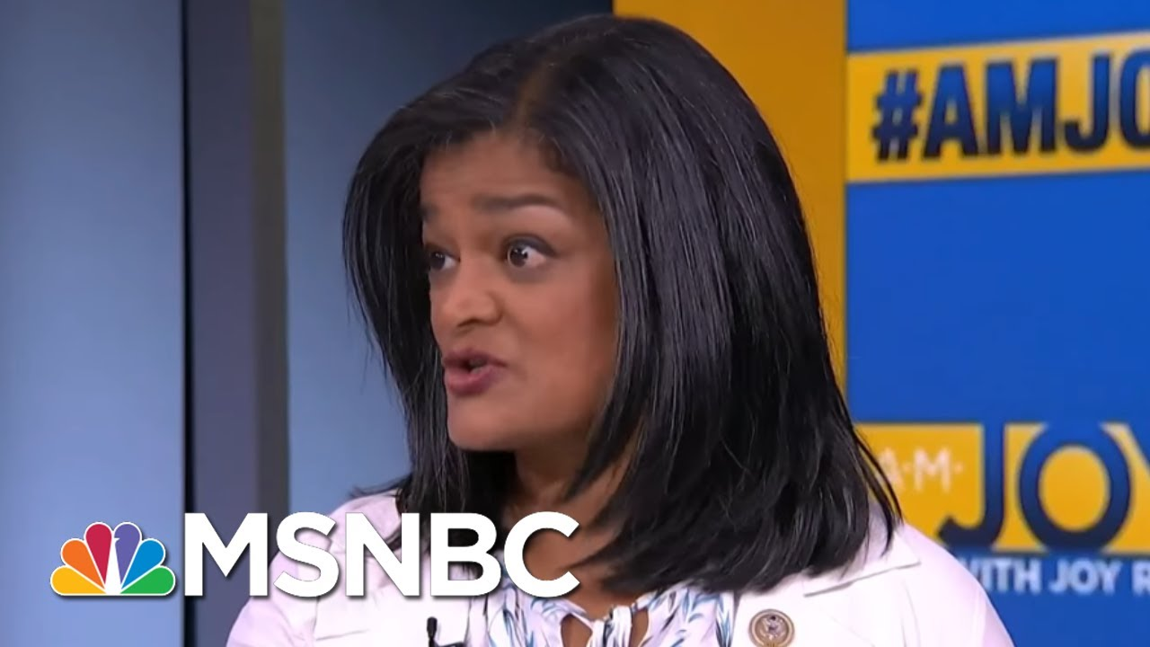 Rep. Pramila Jayapal: I Believe Administration Can't Match Children With Parents | AM Joy | MSNBC thumbnail