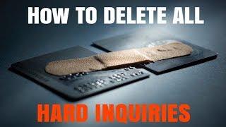Full Tutorial: DIY Hard Inquiry Removal | Credit Healing