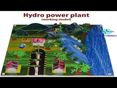 Hydro Power Plant Working Model