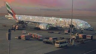Viral Foto Pesawat Emirates Dipenuhi Berlian, Berikut Fakta Sebenarnya