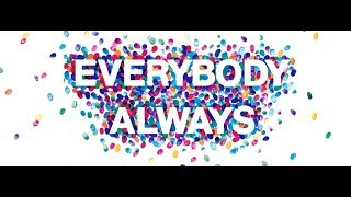 Everybody Always #1: Love People Where They Are