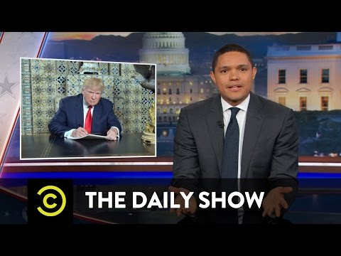 Trump's Pre-Inauguration Photo Op: The Daily Show
