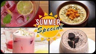 Summer Special Recipes | Summer Recipes Indian | Summer Special Drinks | Summer Compilation