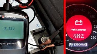 Как Восстановить Неисправный Аккумулятор Автомобиля / Восстановление Дополнительной АКБ на Mercedes