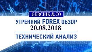 ✅ Технический анализ основных валют и нефти марки BRENT 20.08.2018   Обзор Форекс с Gerchik & Co.