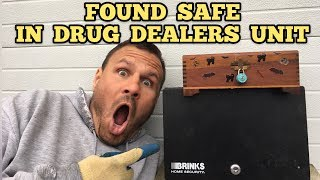 FOUND DRUG DEALERS SAFE I Bought Abandoned Storage Unit Locker / Opening Mystery Boxes Storage Wars