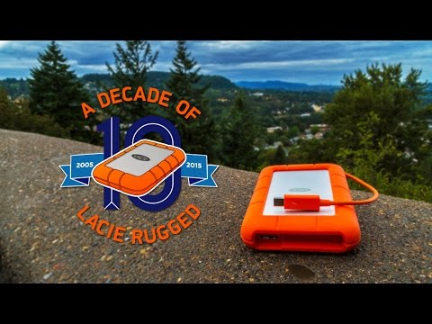 A Decade of LaCie Rugged™ Drives