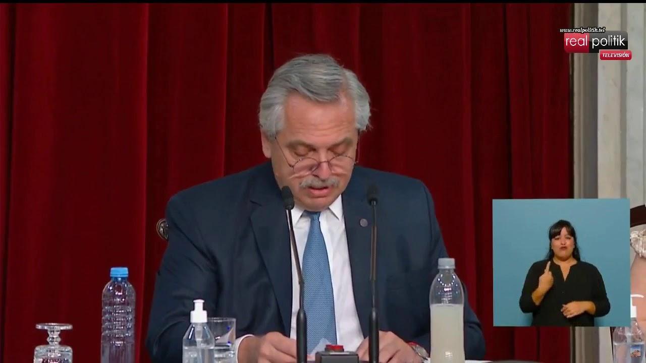 Apertura del 139° período de sesiones ordinarias en el Congreso