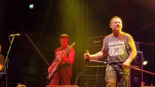 """Abrasive Wheels """"Banner Of Hope"""" Rebellion, Winter Gardens, Blackpool, UK 8/4/16"""