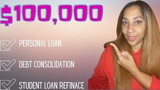 💵💵$100,000 Personal Loan with a Soft Credit Pull Pre-Approval!!✅