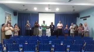 Ensaio grupo de teatro da SEJ O poder da criação 2