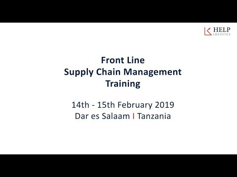 Front Line Supply Chain Management Training - YouTube