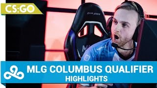 Cloud9 CS:GO - MLG Columbus 2016 | Qualifier Highlights