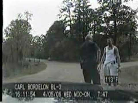 Prison escapee convinces cop he is actually a jogger.