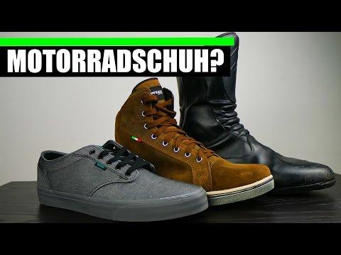 UNAUFFÄLLIGER  MOTORRADSCHUH!? 👞+🏍 Vanucci Tifoso Sneaker VTS 4