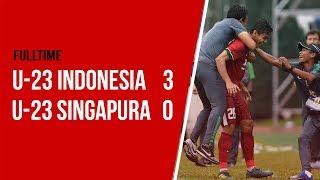 Cuplikan Video Gol Kemenangan Timnas U-23 Indonesia saat kalahkan Timnas U-23 Singapura