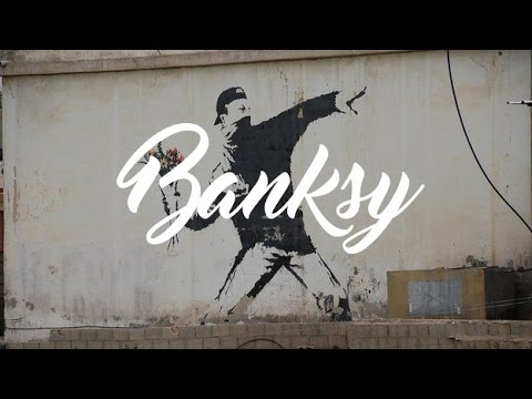 """Gerilla Sanatçı """"Banksy"""""""
