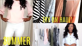 SUMMER TRY ON HAUL 2017  | Affordable Clothes for School, Work & Church