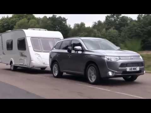 Practical Caravan reviews the Mitsubishi Outlander PHEV GX4hs