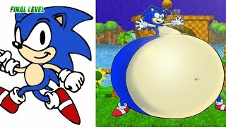 Sonic Characters Fat Version