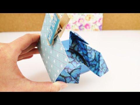 Origami Geschenkverpackung | kleine Aufbewahrung für Bargeld, Gutscheine & Armbander | DIY
