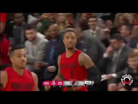 Portland Trail Blazers vs Houston Rockets - Full Game Highlights - December 9, 2017