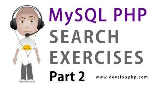 2. MySQL PHP Search Programming : Build the HTML Search Form with Filter List