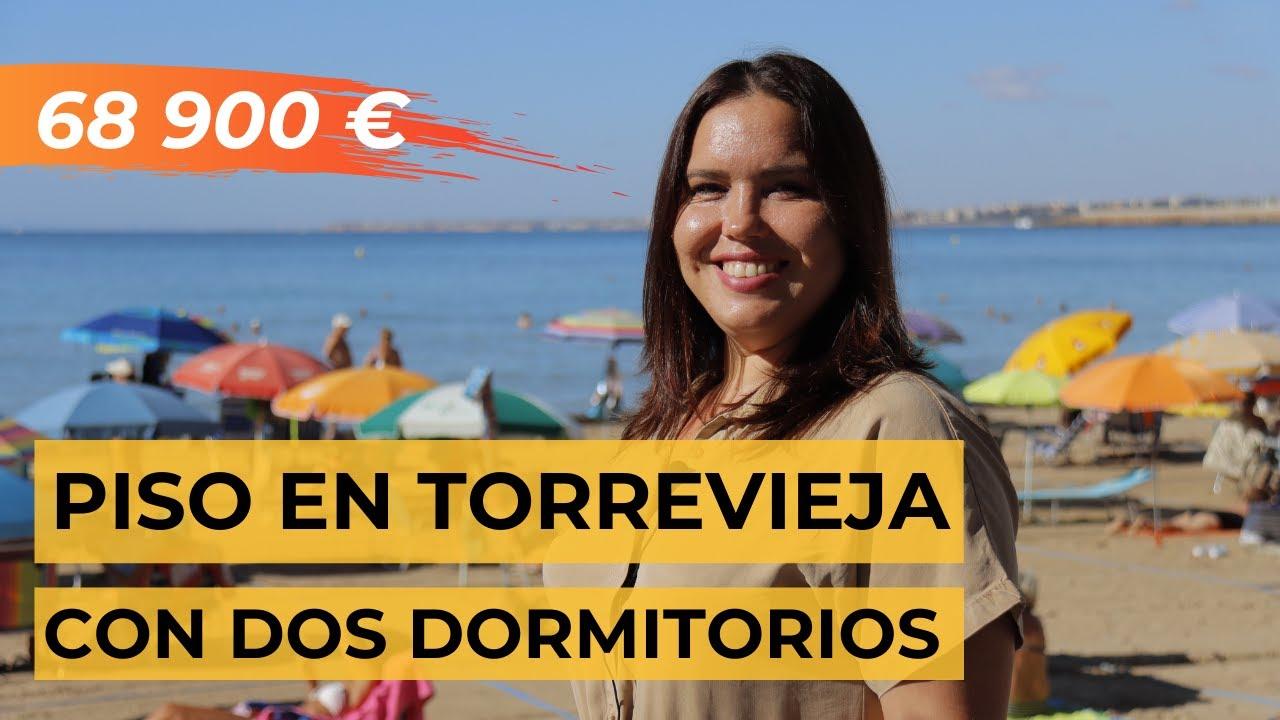 Piso en Torrevieja con dos dormitorios   Precio: 68 900 €